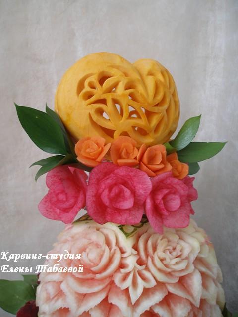 фруктовая композиция весенняя свадьба