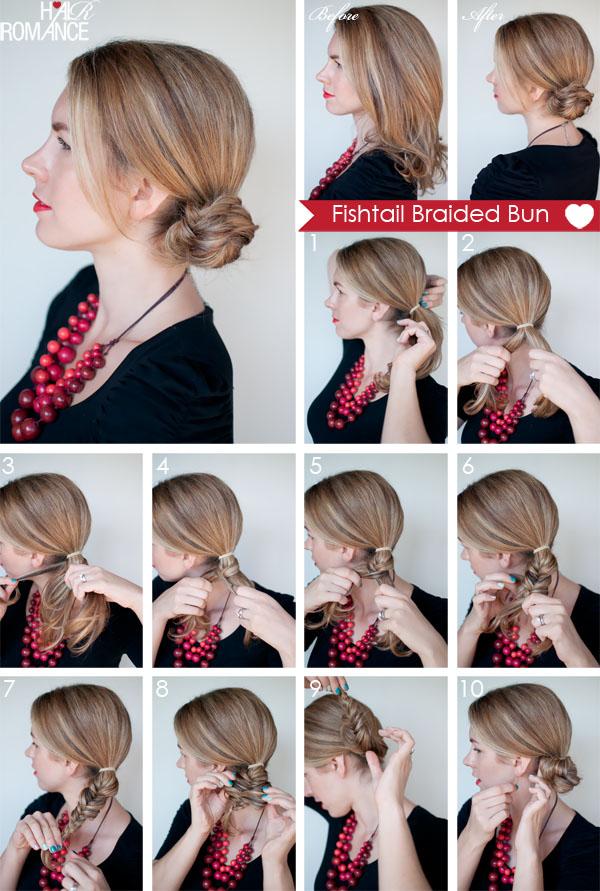 Как сделать прическу виде коротких волос