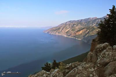 Sfakian coastline from the path to Ag. Pavlos beach