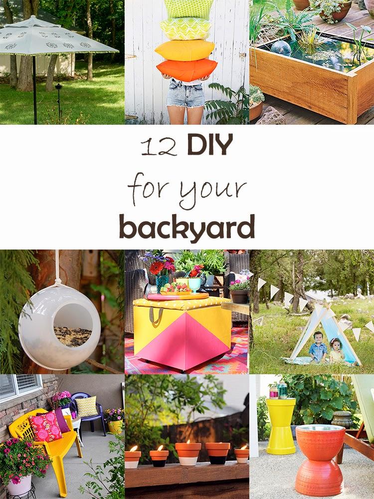 DIY Monday # Backyard easy projects
