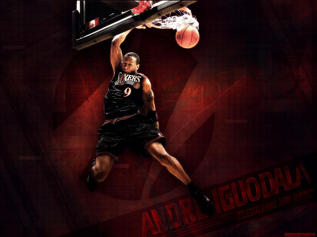 nba player pictures: Andre Iguodala Philadelphia 76ers
