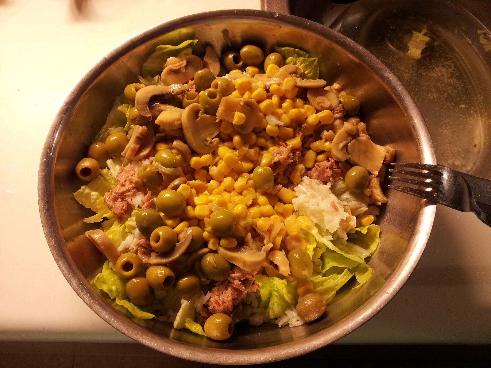 Ensalada de arroz esta el horno para bollos - Ensalada de arroz light ...
