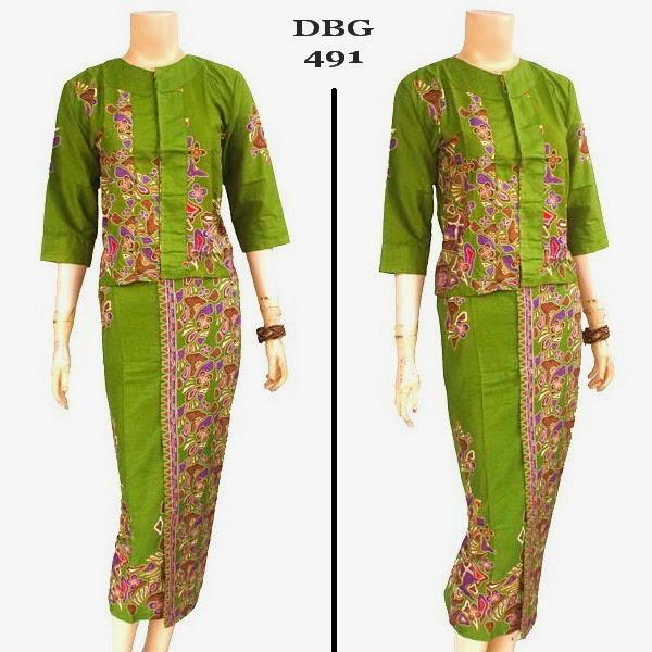 Baju Batik Muslim DBG 491