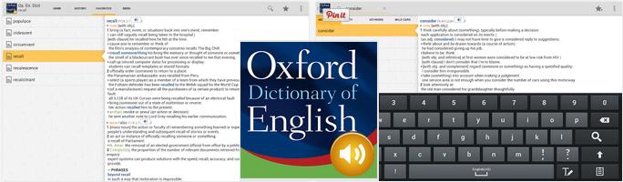 تحميل تطبيق قاموس أكسفورد للأندرويد مجاناً Oxford Dictionary of English T APK 4.3.127
