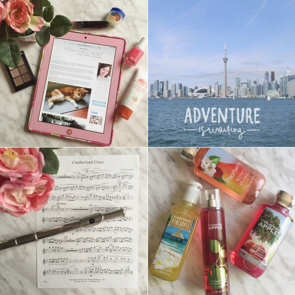 instagram instafriday bbloggers blogging toronto flute bath and body works haul
