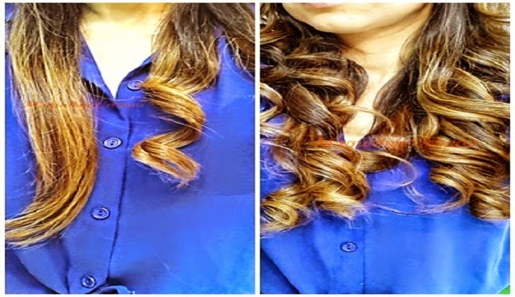 como hacer ondas en el cabello con plancha