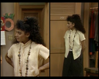 Cosby Show Huxtable fashion blog 80s sitcom Lisa Bonet Denise Hillman