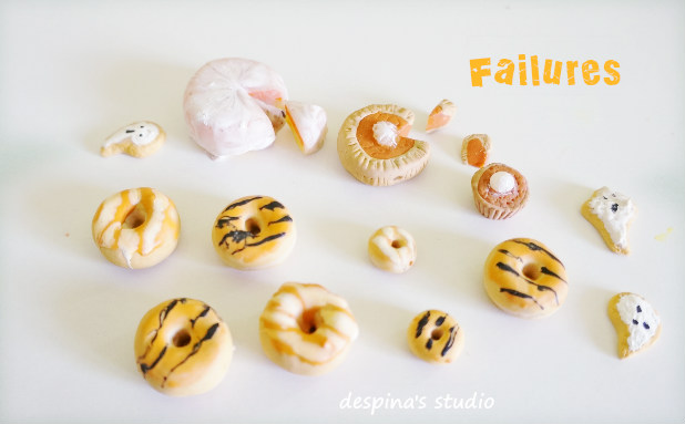 Polymer clay failures and a tip for liquid clay