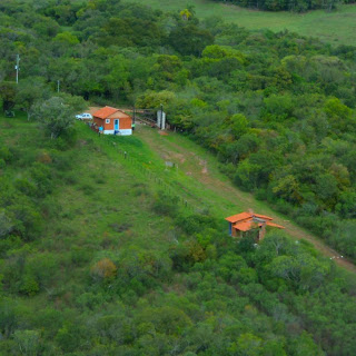 Portaria do Parque Vista da Percival Antunes, em Caçapava do Sul