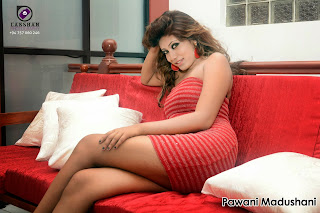 Pawani Madushani hd ass red
