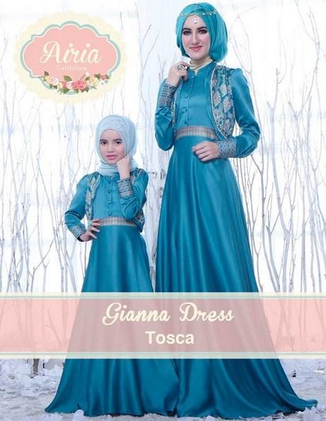 Contoh baju muslim couple ibu dan anak terbaru lucu dan Contoh baju gamis anak