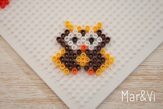 Pattern Hama Beads gufo