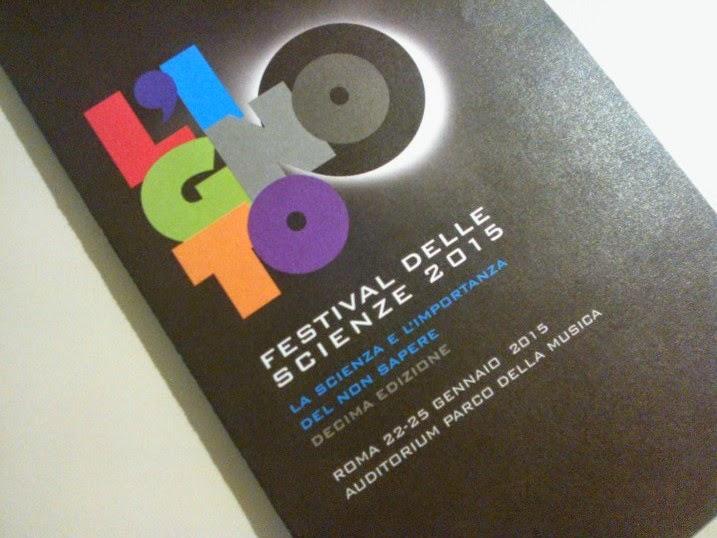 programma del Festival delle Scienze 2015 di Roma