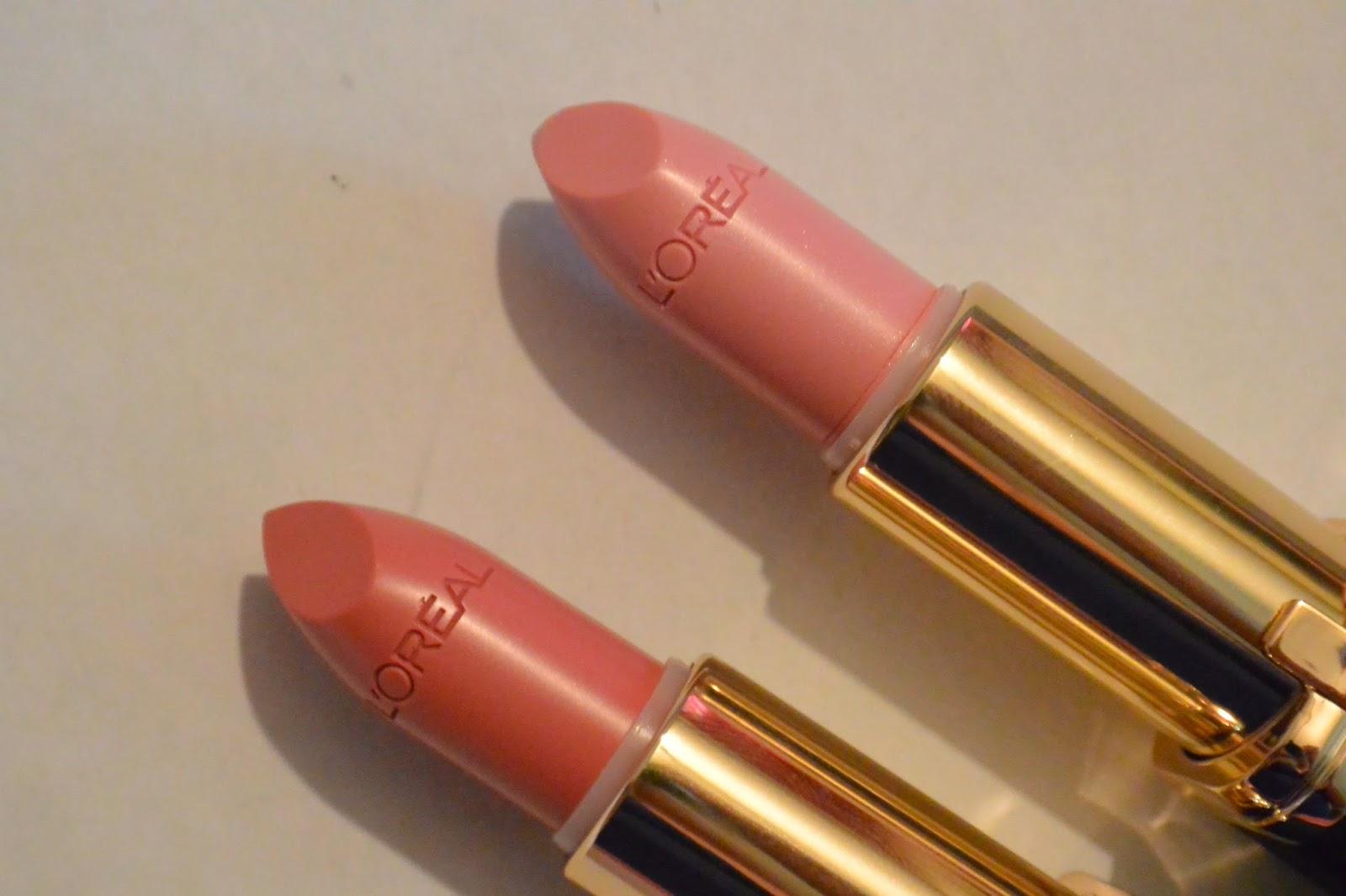 LOréal Colour Riche Lipstick Swatches - Canadian beauty