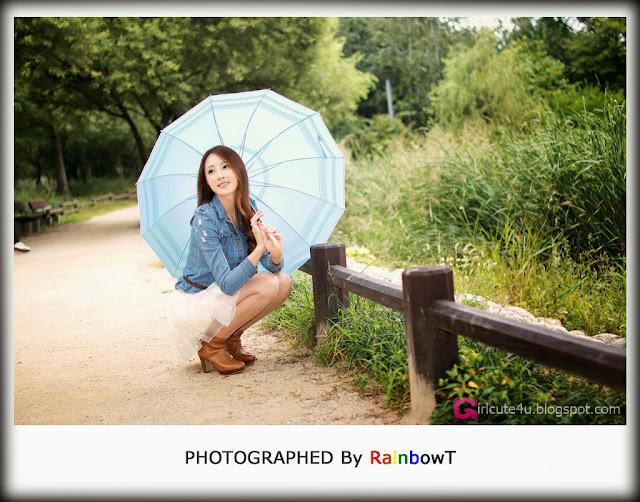 1 Eun Bin outdoor - very cute asian girl - girlcute4u.blogspot.com