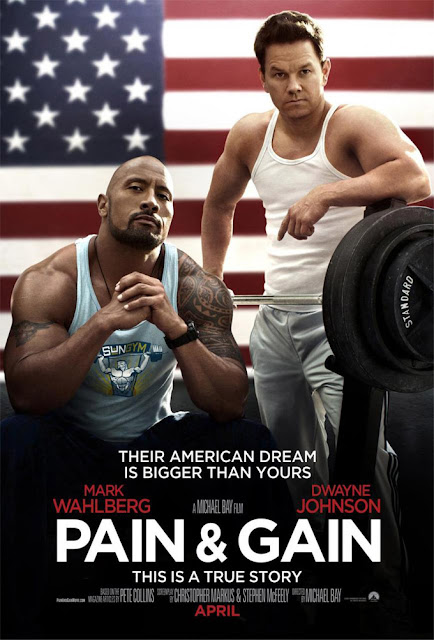 Mark Wahlberg y Dwayne Johnson en Pain & Gain