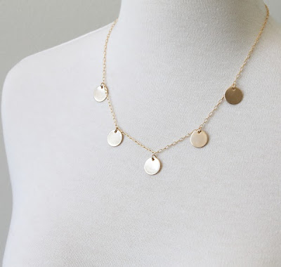 5 charm newsroom necklace