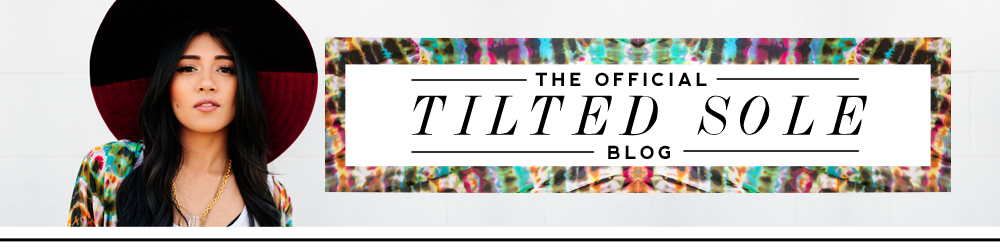 Tilted Sole Blog