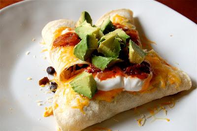 Quick Breakfast Enchilada | www.kettlercuisine.com