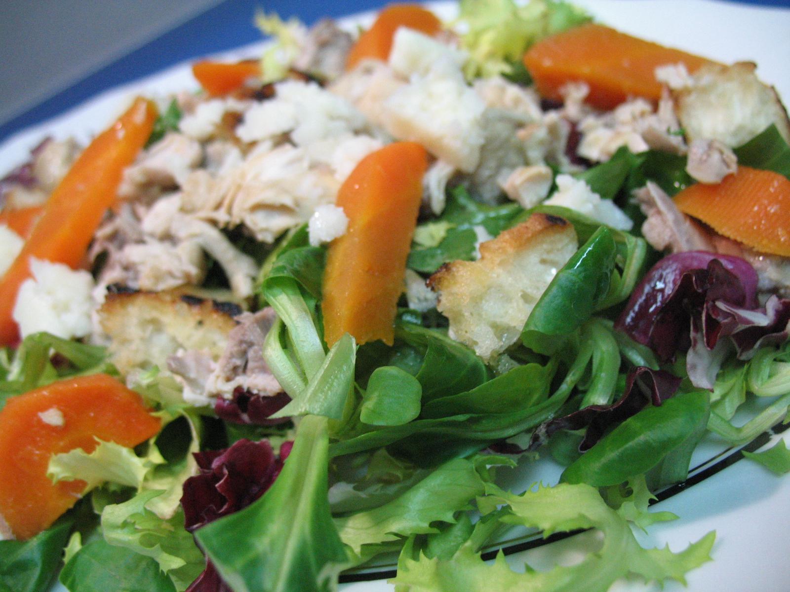 Nos vemos en la cocina de lanas ensalada templada de - Ensaladas con pocas calorias ...