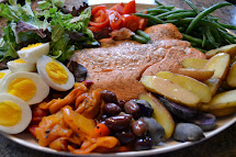 Ina Garten Salmon Nicoise Salad