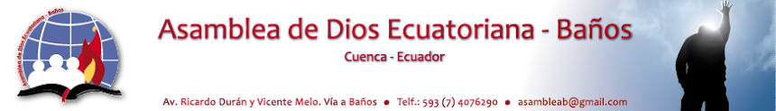 Asamblea de Dios Ecuatoriana - Baños