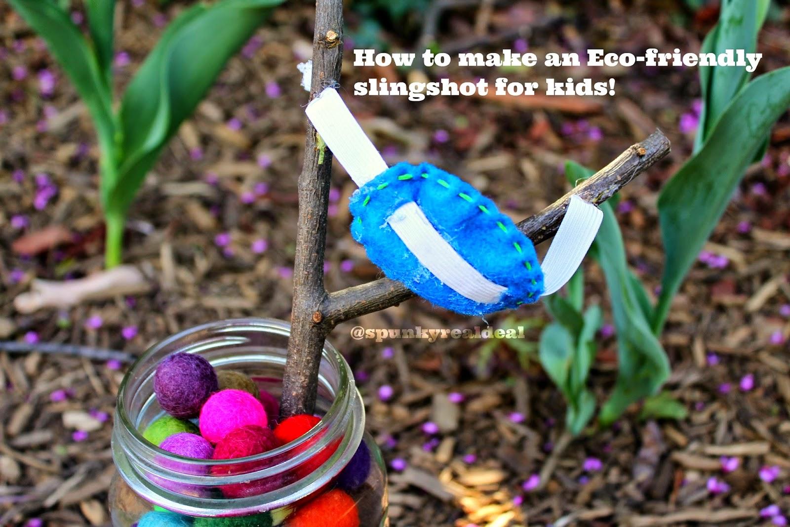 Eco-friendly Slingshot for kids