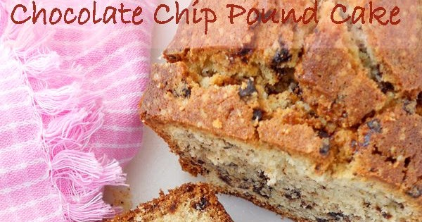 Chocolate Chip Pound Cake Recipe | Cooking Is Easy