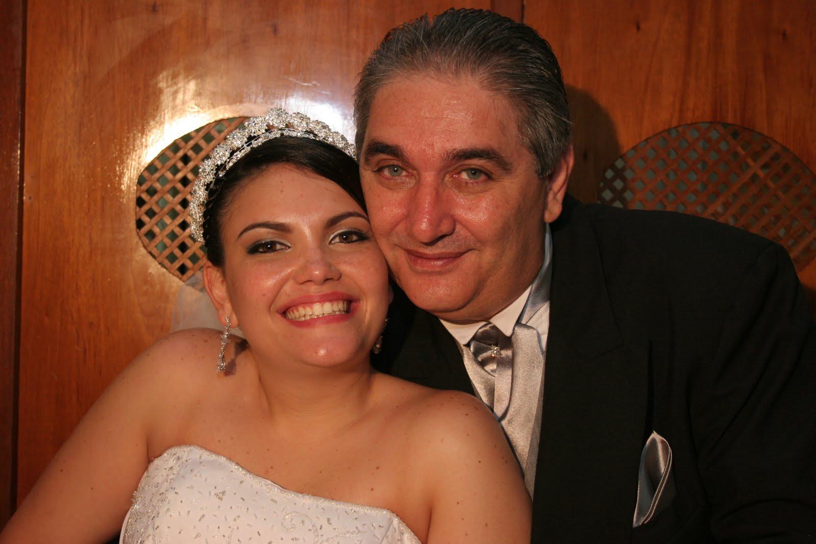 Eu e Juliana em seu casamento. 02.12.2006