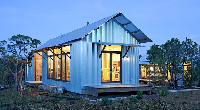 Interior pictures of metal buildings turned into homes for Metal buildings made into houses