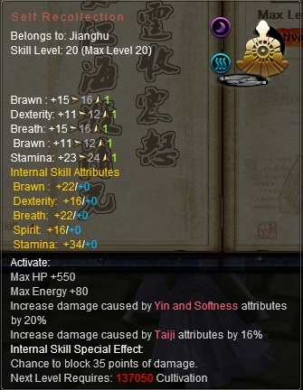 Inner skill - Official Age of Wushu Dynasty Wiki