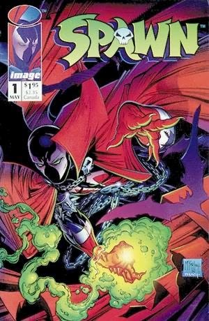 Spawn #1 cover pic