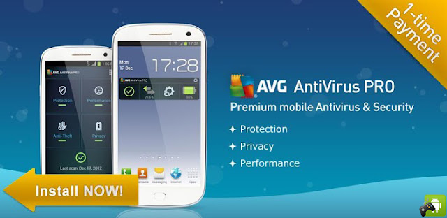AVG MOBILE ANTIVIRUS SECURITY PRO V3.1.1