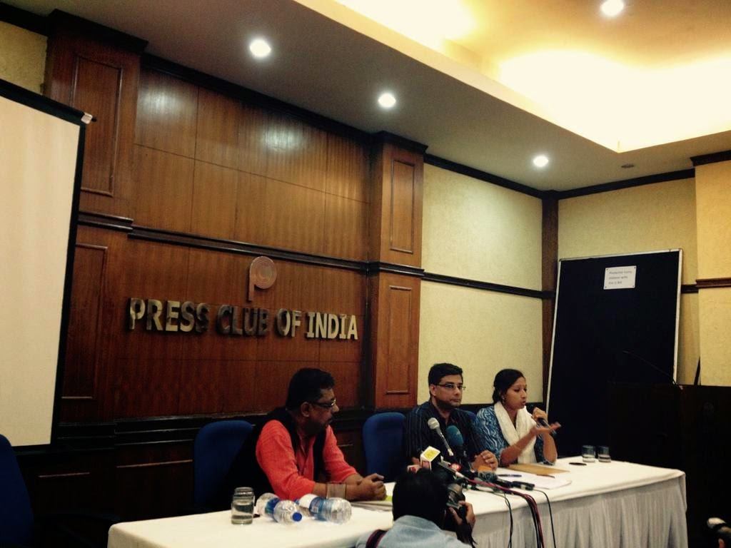 In Support of Greenpeace - Press Conference