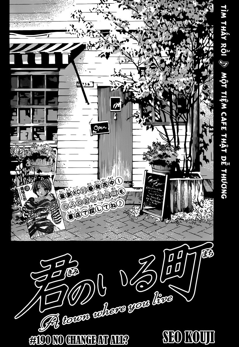 Thị Trấn Tình Yêu chap 190 - Trang 3