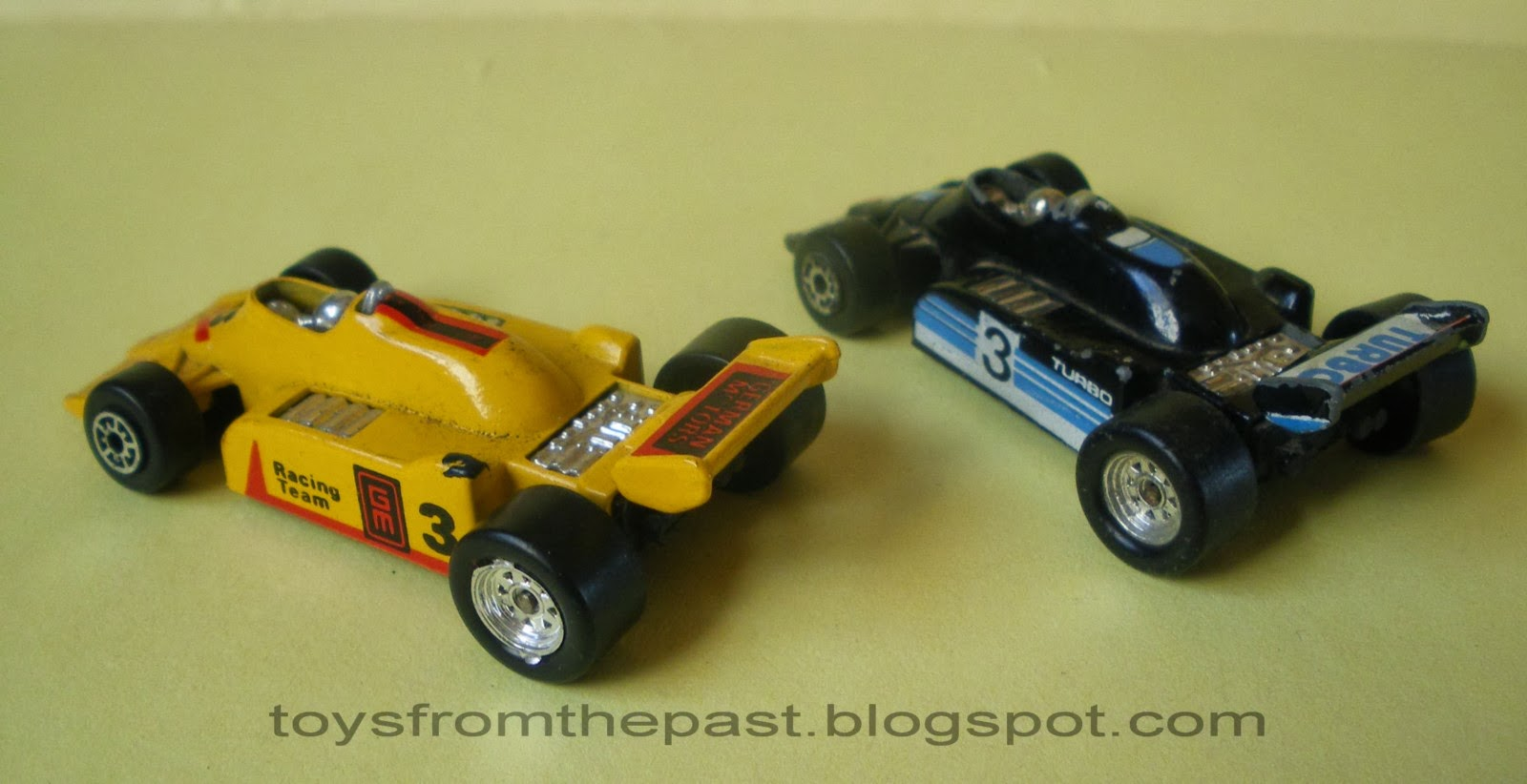 Toy Indy Cars Racing In Streets