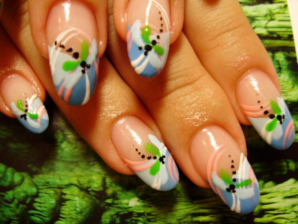The Extraordinary Cute polka dots nail designs simple Photograph