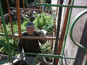 wyjście z klatki? od strony balkonu