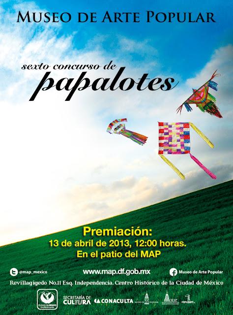 Premiación y exhibición de Papalotes en el Museo de Arte Popular