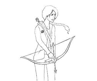 #9 The Hunger Games Coloring Page