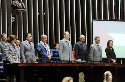 Homenagem ao povo palestino no Congresso Nacional