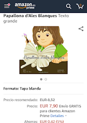 El meu primer conte infantil: Papallona d'Ales Blanques