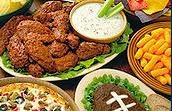football game buffet