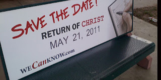 End of days, May 21, 2011, Harold Camping, William Miller, Biblical phrases twisted, End of day predictios, 153 days from May