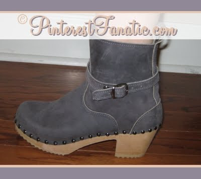 Sandgrens Clogs, Ugglebo, Shearling Boots, Nubuc Boot, Philly