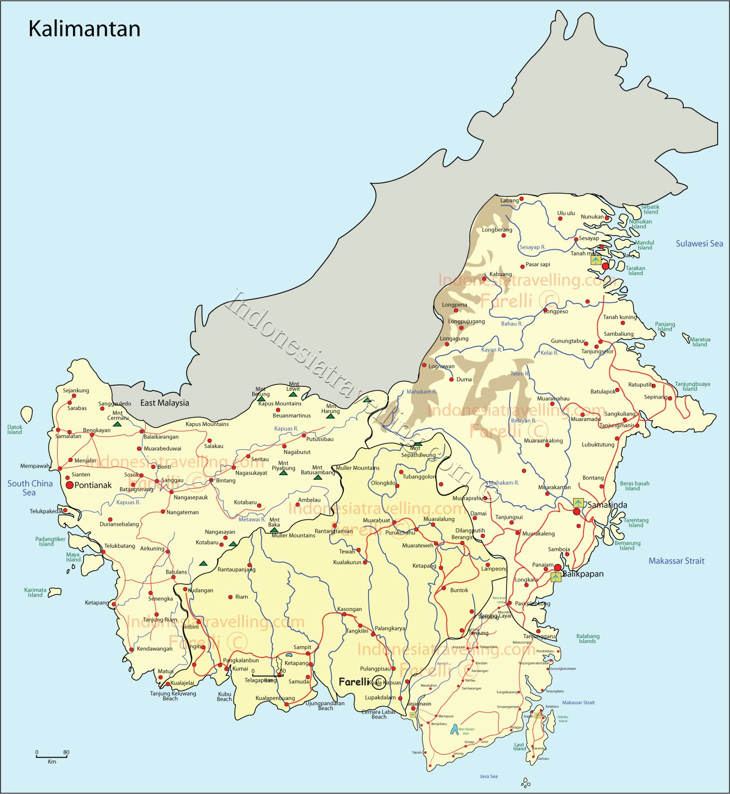 Kumpulan Peta Indonesia