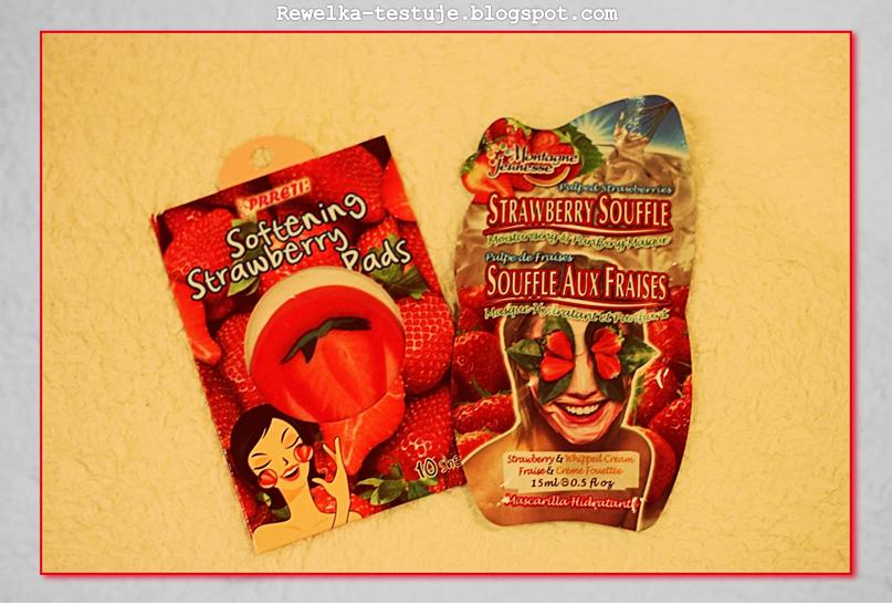 Truskawkowy zawrót głowy! Strawberry pads i Montagne Jeunesse Strawberry Souffle