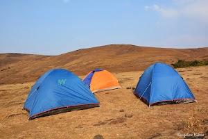 Camping site at Bababugangiri