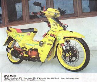 Foto Modifikasi MotorSupra X Terunik 2013/2014