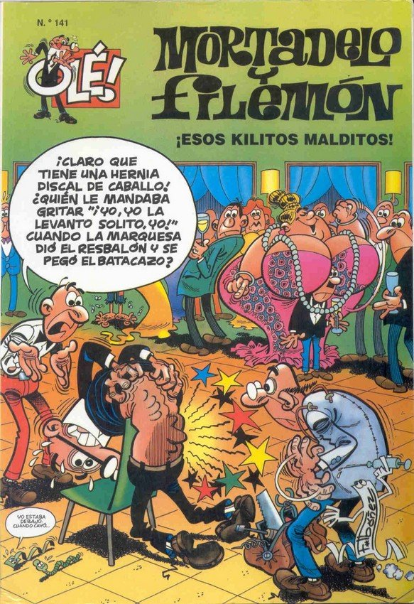 Esos Kilitos Malditos - Mortadelo y Filemón